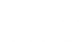 florida brand co apparel company white logo