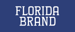 Florida Brand White Logo