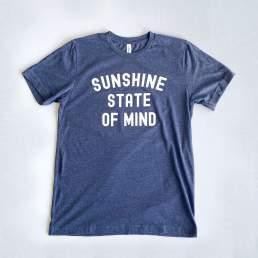 Sunshine State of Mind Shirt Product Photography