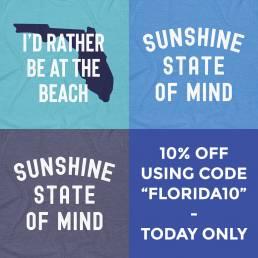 Instagram Shirt Promotion - Florida Brand Designs